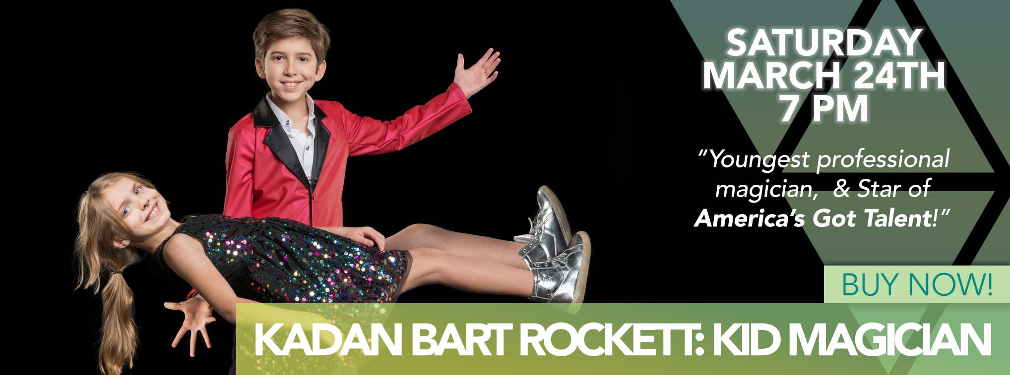 Kadan Bart Rocket Kid Magician - Saturday March 24th 7PM