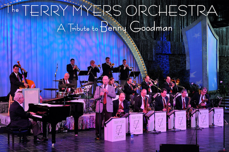 The Terry Myers Orchestra, a tribute to Benny Goodman