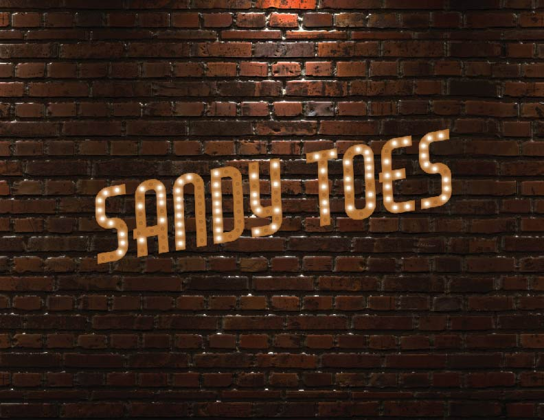 Sandy Toes Stand Up